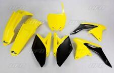 Kit plastique UFO motocross Suzuki RMZ 250 2010 origine jaune