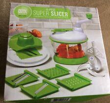 12 Piece Super Slicer Chop Julienne Grate Slice Shred Beat & Blend