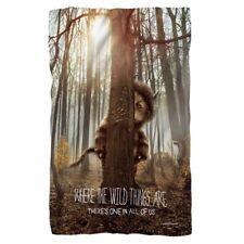 New 48x80 Where the Wild Things Are Fleece Throw Gift Blanket Carol Tree Movie