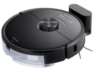 Roborock S6 MaxV Staubsauger-Roboter mit Wischfunktion Dual-Kamera WLAN schwarz