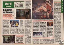 Coupure de presse Clipping 1989 Rémy Chauvin Sigourney Waever  (2 pages)