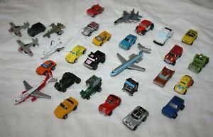 Micro Machines - Vintage Car and Aeroplane Bundle - Galoob