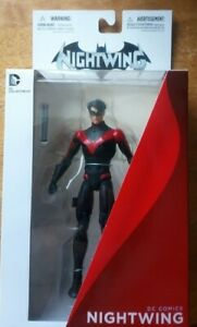 """DC Comics New Universe NIGHTWING 6"""" toy action figure,batman, justice boxed rare"""