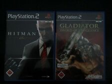 Hitman Bloodmoney und Gladiator PS2 Playstation 2 Spiele