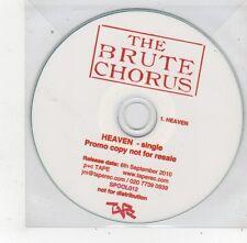(FQ469) The Brute Chorus, Heaven - 2010 DJ CD