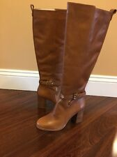 Brand New Michael Michael Kors Arley Boot Women US 5.5 M  5 1/2 Brown Luggage