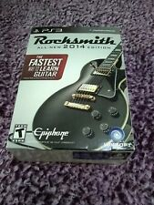 Rocksmith 2014 Edition Playstation 3 WITH REAL TONE CABLE