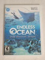 Endless Ocean Dive Discover Dream (Nintendo Wii, 2008) Brand-New Factory Sealed