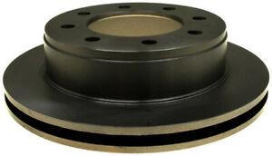 Disc Brake Rotor-Non-Coated Rear ACDelco Advantage 18A928A 18A928