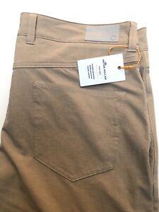 Peter Millar Crown Sport Jackson Performance 5 Pocket Golf Pant Men's 34x32  New