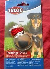 Trixie Perro Adiestramiento Discos tren a través de sonido obediencia Entrenamiento Con Folleto