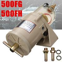 500FG 500FH Diesel Marine Trucks Fuel Racor Filter Oil Water with Bolt 90GPH