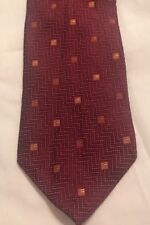 Hugo Boss Zig Zag Design Silk Tie