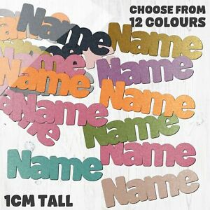Name Table Confetti - Choose your own words - 12 Colours