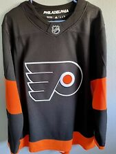 New Listingadidas Philadelphia Flyers Nhl Men's Climalite Authentic Alternate Hockey Jersey