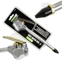 "6"" Air Blow Gun Rubber Tip 1/4"" NPT Inlet GRIP 10581 Blowgun Tool"