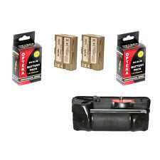 Opteka BG-D700 Power Grip with 2 EN-EL3e Batteries for Nikon D300 D300S D700