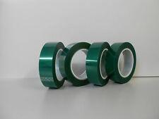 1 Rolle tesa 50600 Grünes PET Silikon-Abdeckband 30mmx66m für Pulverbeschichtung