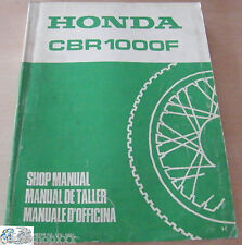 67MM530 Manual de Taller Honda CBR1000F H