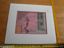 Fat Albert Rudy Rudi Bill Cosby Filmation Original Animation Cels matted 1970's