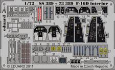 Eduard Zoom SS389 1/72 Knietic F-16D Fighting Falcon