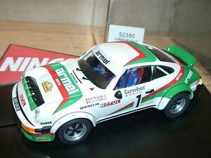 Ninco 50386 PORSCHE 911 SC ARMEL Bernard Beguin - slot 1:32 scale-      (sttz)