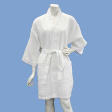 Lot 7 Women's Spa Wedding Bridesmaid Gift Waffle Robes Wholesale White WBR12A