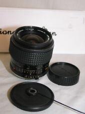 MINOLTA MC W.ROKKOR -X SI 28mm 1:2.5 wide angle LENS for 35mm slr camera