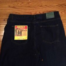 NWT Smith's Men's Fleece Lined 5 Pocket Blue Denim Jeans size 40 x 30