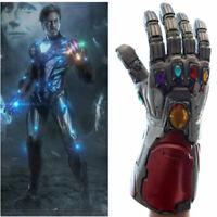 Hot Avengers Endgame Tony Stark Infinity Gloves Iron Man Gauntlet Cosplay Prop