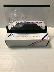NEW J's Superstar Acrylic Baseball and Card Holder Black Frame