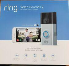 BRAND NEW! Ring Video Doorbell 2 Wire-Free HD Video Doorbell
