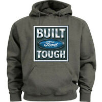 Built Ford Tough Sign Hoodie Hooded Sweatshirt Gifts for Men