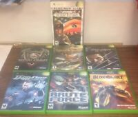 Originql Xbox Action Games Lot Mortal Combat Deadly Alliance Wolverine Revenge