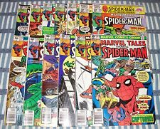 MARVEL TALES Lot of 13 Comics from #122 to #134 most Mark Jewelers Spider-Man