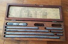 Lufkin 681c inside micrometer.  lock damage to box