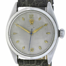 1953er ROLEX PERPETUAL BUBBLEBACK SWISS MADE HERRENUHR REF.: 6084 EDELST._17481