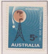 (Q17-109) 1956 AU 5d ITU centenary MUH