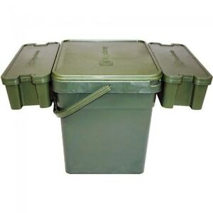 Ridgemonkey Modular Bucket & Trays *All Sizes* Bait Bucket NEW Carp Fishing