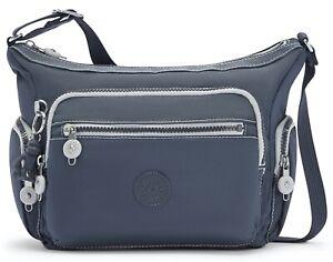 Kipling Gabbie S Shoulder Bag - Grey Slate RRP £83