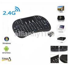 Mini 2.4G Wireless Keyboard and Mouse Combo with Touchpad for PC Android Black A