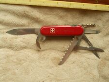 Wenger Forester Swiss Army knife in red -  has both pick and tweezers