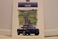 "1997 Ford Probe Dealer Brochure 9"" x 11"" Mint"