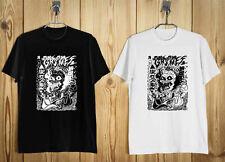 NEW Grimes Visions Men's Clothing Black & White T Shirt Size S-2XL