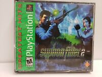 Sony PlayStation One Syphon Filter 2 II PS1 Game Greatest Hits Complete CIB
