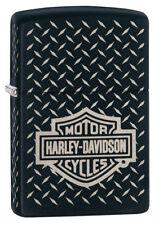 Zippo Feuerzeug Harley Davidson Katalog 2018 Diamond Plate All over 60001596