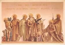 Italy Montecassino Il Gruppo dei Patriachi nella Cappella Santi Monaci