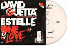 DAVID GUETTA ESTELLE ONE LOVE RARE EU PROMO CDS IN CARD PS