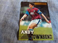 ANDY TOWNSEND Trading card MERLIN'S PREMIER GOLD 1996/97