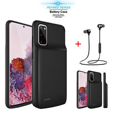 For Samsung Galaxy S20+ Plus Ultra 5G Battery Charging Case Power Bank / Headset